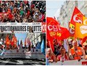 مظاهرات فى فرنسا ضد قانون الخدمة المدنية