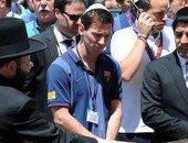 """""""ميسى"""" يزور إسرائيل يونيو المقبل ويلعب في القدس فى استاد """"تيدي"""""""