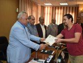 """محافظ الشرقية يسلم 77 شاب شهادة اجتياز مشروع مطبقى المبيدات """"صور"""""""