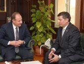 صور .. محافظ الإسكندرية يستقبل سفير أوزباكستان بالقاهرة