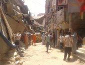 إزالة 360 حالة تعد وإشغالات بشوارع مدينة إهناسيا غرب بنى سويف