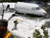 "انتشال 7 جثث فى حادث تحطم طائرة ""بوينج 707"" بإيران"