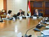 وزير التنمية المحلية يلتقى وفد الوكالة الألمانية للتعاون الدولي GIZ