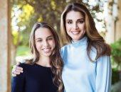الملكة رانيا تنشر صورة مع ابنتها الأميرة سلمى: ابتسامتك تجعل حياتى أفضل