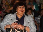 وزيرة الثقافة توجه التحية لروح المايسترو ألدو مانياتو فى احتفالية الأوبرا