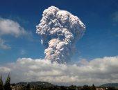 ثوران بركان جبل ميرابى فى إندونيسيا للمرة الرابعة خلال 24 ساعة