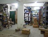 القبض على صاحب مخزن بحوزته 4500 قطعة رولمان بلى مجهول المصدر بالأزبكية