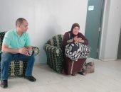 فريق التدخل السريع بالتضامن ينقذ سيدة بلا مأوى فى الدرب الأحمر