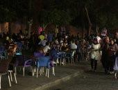 أجواء رمضانية ساحرة فى سحور المصريين فى شارع المعز