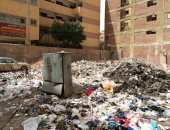 صور.. قارئ يشكو من تراكم القمامة بشارع التعاون فى منطقة الهرم