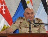 وزير الدفاع يتناول الإفطار مع مقاتلى الجيش الثالث والمنطقة الجنوبية