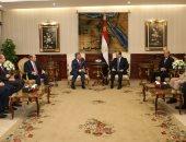 الرئاسة: قمة السيسى وعاهل الأردن تناولت الأوضاع فى فلسطين