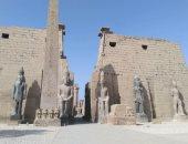 25 صورة تبرز عظمة وشموخ قدماء المصريين فى مقصورات معبد الأقصر