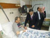 صور.. مساعد وزير الصحة يتفقد مستشفى تأمين الدقهلية