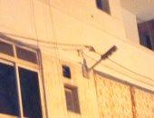 6 شوارع بأرض المحمرة بالإسكندرية دون إنارة.. ومواطن يطالب بإضاءتها