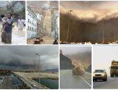 """7 قتلى و19 مفقوداً فى سقطرى اليمنية جراء إعصار """"مكونو"""""""