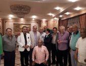 صور: نجوم الرياضة وقيادات الداخلية  فى حفل إفطار حرب الدهشورى