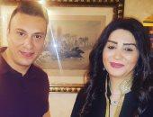 """وفاء عامر ضيفة """"بلاتوه"""" على الفضائية المصرية"""