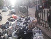 صور.. شكوى من تراكم القمامة بجوار مسجد بشارع ناهيا