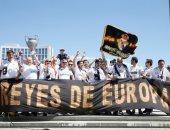 جماهير ريال مدريد وليفربول تصنع الحدث فى كييف قبل نهائى اوروبا.. صور