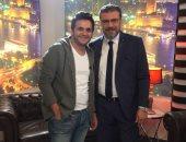 """عمرو الليثى ضيف شرف الحلقة 10 من مسلسل """"ربع رومى"""""""