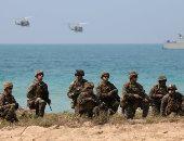 """""""المارينز"""" الأمريكى يشارك للمرة الأولى فى تدريبات عسكرية على الحدود الروسية"""