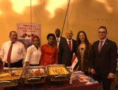 صور.. سفارة مصر بأنجولا تشارك فى احتفال السفارات الأفريقية بيوم أفريقيا