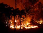 """السلطات فى هاواى الأمريكية تأمر بإخلاء مناطق مهددة بحمم بركان """"كيلاويا"""""""
