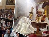"""""""المجد لله فى الأعالى وعلى الأرض السلام"""".. كنائس الإسكندرية تتزين لعيد الميلاد"""