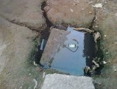 قارئ يشكو عدم اكتمال مشروع الصرف الصحى على طريق المنصورية فى الجيزة