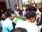 تشييع جثمان على لطفى رئيس وزراء مصر الأسبق من مسجد الشرطة بأكتوبر