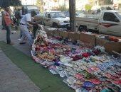 """صور.. """"أمن القاهرة"""" يطارد الإشغالات وينفذ 460 إزالة وضبط 23 بائعا"""