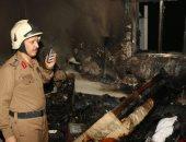 صور.. الدفاع المدنى السعودى يسيطر على حريق بمكة المكرمة