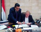 صور.. محافظ جنوب سيناء يعتمد نتيجة الشهادة الإعدادية بنسبة نجاح 81.1 %