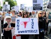 صور.. تظاهر المئات فى أيرلندا للمطالبة بتخفيف القيود على الإجهاض