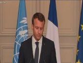 ماكرون: اجتماع الأطراف الليبية فى باريس تاريخى وجميعهم اتفقوا على البيان