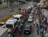 صور.. شلل تام بالبرازيل مع استمرار إضراب سائقى شاحنات الوقود