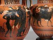 متحف اللوفر يستحوذ على مزهريات يونانية قديمة من مزاد علنى