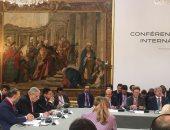 """نص كلمة """"محلب"""" بالاجتماع الدولى بباريس حول ليبيا: مصر تدعم التسوية السلمية"""