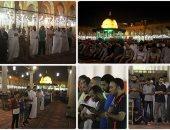 روحانيات رمضانية فى صلاة التراويح بمسجد عمرو بن العاص