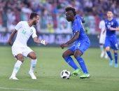 كل أهداف الإثنين.. بالوتيلى يقود إيطاليا للفوز على السعودية