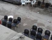 شكوى من احتلال المقاهى لشارع عمر بن الخطاب بمصر الجديدة