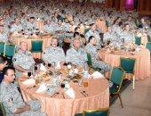 وزير الدفاع فى حفل إفطار أبطال الجيش: مصر لن تبنى إلا بسواعد أبنائها المخلصين