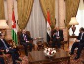وزراء خارجية ورؤساء أجهزة المخابرات بمصر والأردن يلتقون بمقر الخارجية