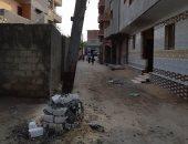 صور.. شكوى من عامود كهرباء آيل للسقوط بقرية المشاعلة فى الشرقية