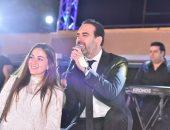 """صور .. وائل جسار يتألق فى حفل كامل العدد بخيمة """"طال السهر"""" بالأردن"""