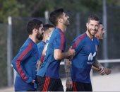 استبعاد رباعى ريال مدريد من ودية إسبانيا وسويسرا لهذا السبب