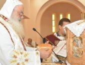 صور.. الأنبا بولا يترأس صلاة قداس لطلبة الثانوية العامة بكنيسة مارجرجس بطنطا
