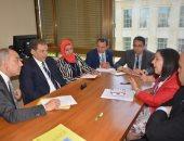 وزير القوى العاملة يلتقى المسئولين بمنظمة العمل الدولية