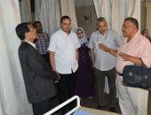 رئيس جامعة سوهاج يتابع خطة تطوير قسم الأطفال بالمستشفى الجامعى